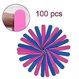 Nagelfeilen, Doppelseitige Einweg Nagelfeile, Professionelle Care Nagelfeilen -180/240Grit(100 Stück)