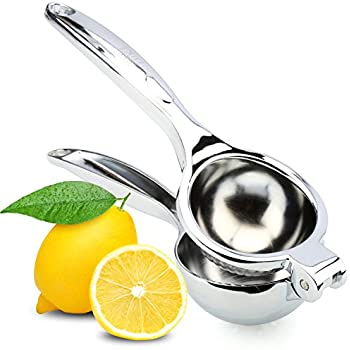3a84d8ee9ec23 Nuvantee Home Lemon Squeezer - Quality 18/10 Stainless Steel Citrus ...