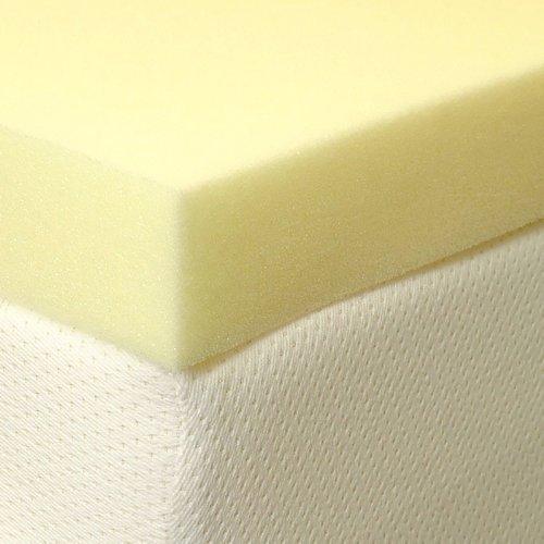 """1"""" Single Memory Foam Mattress Topper by Innaliving 2"""