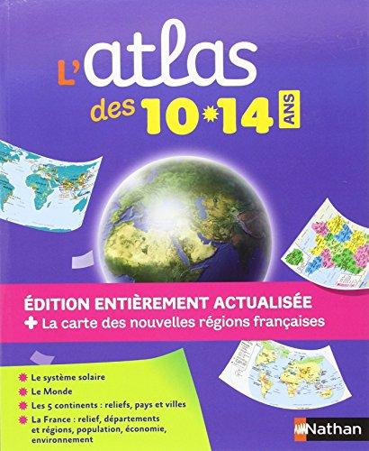 Descargar Libro Atlas des 10-14 ans de Nathan