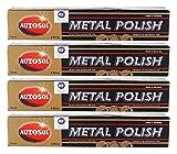 4x AUTOSOL Metal Polish Edel Chromglanz Metall...