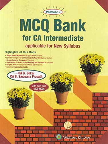 MCQ Bank for CA Intermediate