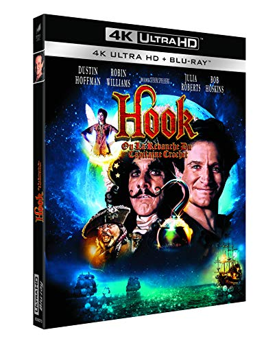 Hook, ou la revanche du Capitaine Crochet [4K Ultra HD + Blu-ray]