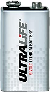 Ultralife Lithium 9v Battery 1200mah X1 Elektronik