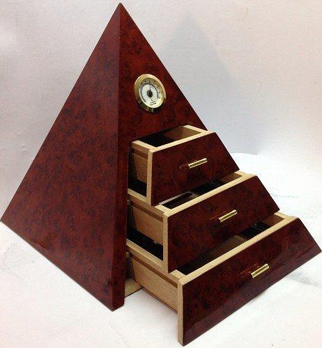 Umidificatore per Sigari Smokegame mod. PIRAMIDE - Cigar Humidor in cedro spagnolo - Piramide Humidor