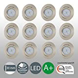 LED Einbaustrahler Schwenkbar Ultra Flach Inkl. 12 x 5W LED
