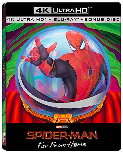 Spider Man Far From Home Mysterio Limited Steelbook Edition