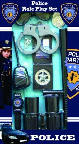 Dress Up America Polizist stellvertretender Rollenspiel Kit für Kinder (Cop Kostüme Für Jugendliche)