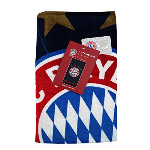 Großes FC Bayern München Strandtuch 75 x 150 cm (8972)