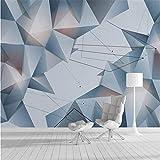 HOMEEN Hd Peint Home Improvement 3D Fond D'Écran Pour Mur 3D Décoratif Mur Papier 3D Abstrait Géométrique Lignes De Fond Tv Fond D'Écran Mural, 400X280 Cm (157,5 Par 110,2 In)