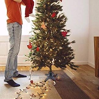 Ganmaov-360-Grad-Drehbarer-Weihnachtsbaum-Stand-Justierbarer-Elektrischer-Drehbaren-Sockelfen-Fr-Knstliche-Bume-bis-Zu-6-M-Schwarz-Realistic