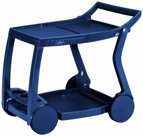 BEST 18480020 Servierwagen Galileo, blau