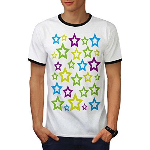 Star Modisch Gestalten Mode Jugend Mode Herren M Ringer T-shirt | Wellcoda (Platten-jugend-t-shirt)