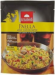 Arnaboldi Paella alla Valenciana con Pesce e Verdure 185grammi [12 Pezzi]