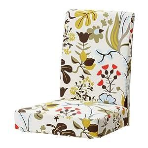 IKEA HENRIKSDAL - Housse chaise, Blomstermåla multicolore