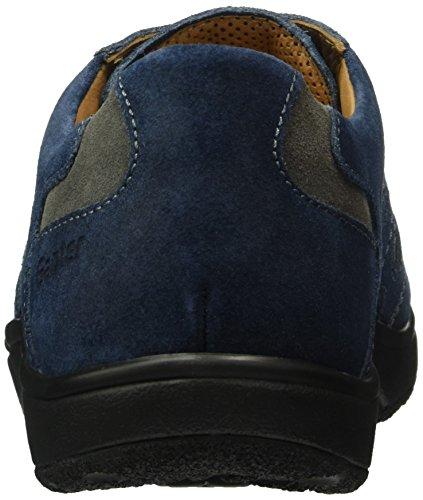 Ganter Aktiv Heimo - Weite H - Baskets homme Bleu (navy / darkgrey 3166)
