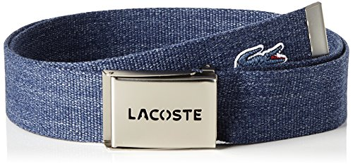 Lacoste RC0012, Ceinture Homme, Gris (Graphite), 110 (Taille Fabricant : 110)