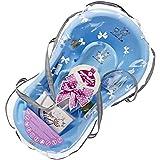 Supreme–Set de regalo baño 84cm con accesorios, diseño de cebra, color azul