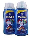 Badulino, Kinderduschbad Waldbeere, 2 Stück je 200 ml, Duschgel&Shampoo