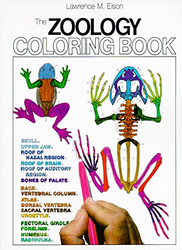 The Zoology Colouring Book (College Outline)