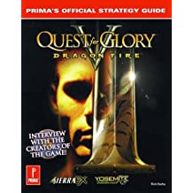 Quest for Glory V: Dragon Fire: Prima's Official Strategy Guide by Rick Barba (1999-01-06)