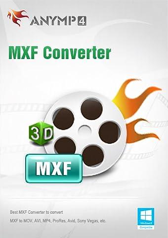AnyMP4 MXF Converter Lifetime License - Convert MXF to MP4/AVI/MKV/WMV/FLV/MOV, etc. and change 2D to 3D video