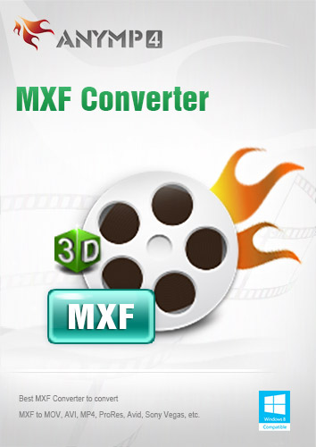 AnyMP4 MXF Converter 1 Year License - MXF in MP4/AVI/MKV/WMV/FLV/MOV konvertieren [Download] Mp4 Mpg Converter