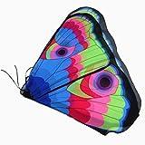Schmetterling Kostüm, HLHN Erwachsene und Kinder Schmetterling Flügel Nymphe Pixie Poncho Kostüm Zubehör für Show / Daily / Party