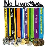Desconocido Soporte de medallas Deportivas para Corredores, medallas, medallas, Expositor de medallas, para 12 medallas, para Maratón, Correr, Carrera, medallas Deportivas