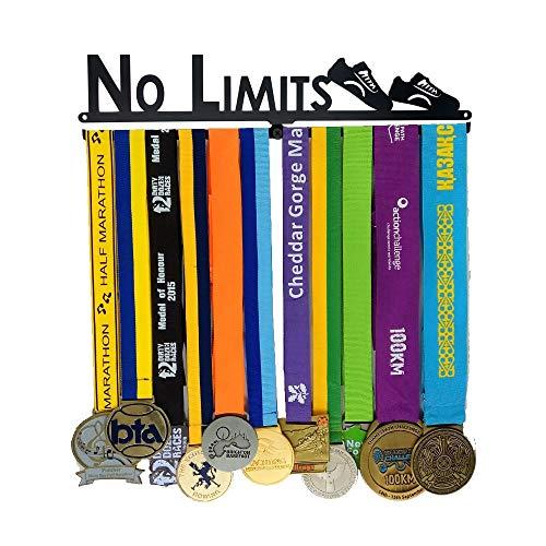J&X Medaillenhalter | Medaille anzeigen Metallklammer | Medal Rack Weiter Laufen | Läufer Medaillenhalter | Medaillenständer | Trophäenhalter - Aufhänger Race-medaille