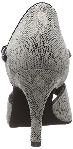 Diamant - 153-058-418, Scarpe da ballo/danza Donna Mehrfarbig (Creme Reptil Print/Schwarz)
