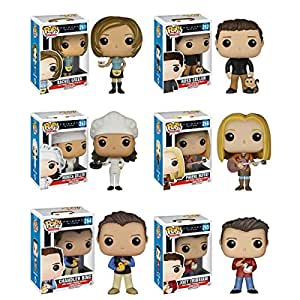Friends Funko Friends Toy Figures (Rachel, Ross, Phoebe, Chandler, Monica, Joey Pop) Set Of 6