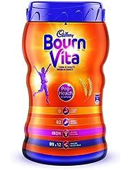 BOURNVITA Pro-Health Chocolate Drink, 500 g Jar