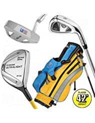 "US Kids UL-42"" Boys 4-Club Golf Package Set 2012 Boys RH Boys RH"