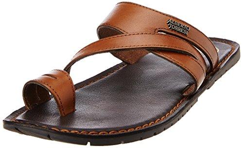 Alberto Torresi Men's Leather Espadrille Flats