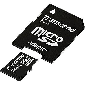 Transcend TS16GUSDHC4 - Tarjeta de Memoria Flash Micro SDHC de 16 GB