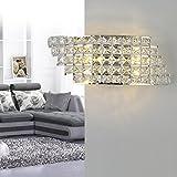 Moderno LED applique da parete con cristallo stile barocco design Lampadario Lampada da parete comodino creativo Decoratif illuminazione da parete per camera salotto