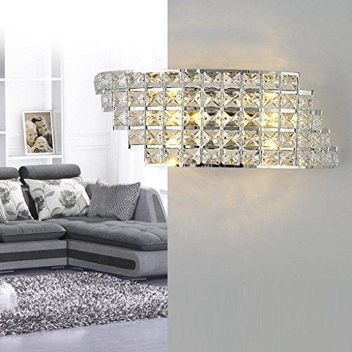 Luxus Kristall-Wandleuchte LED 6W Moderne Leuchte Anhänger Kristall Innen Wand Beleuchtung Decor Kristalllampe Kreativ Design Wandlampe für Wohnzimmer Schlafzimmer - Kristall Wandleuchte Beleuchtung