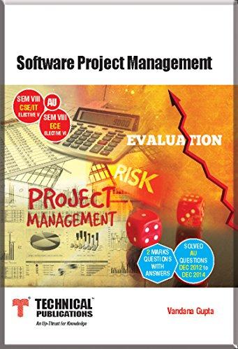 Software Project Management for AU (sem-VIII ECE ELECTIVE-VI SEM-VIII CSE/IT ELECTIVE-VI Course-2013)