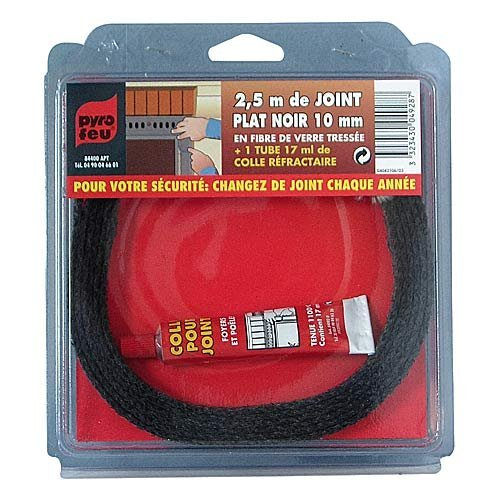 guarnizione-piatta-nera-mm-15-in-fibra-di-vetro-intrecciata-m-250-1-tubo-colla-refrattaria-da-17-ml