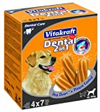 Vitakraft Dental 3in1 Multipack - Zahnpflege-Snack für Hunde ab 10 kg - 16x 7 Sticks