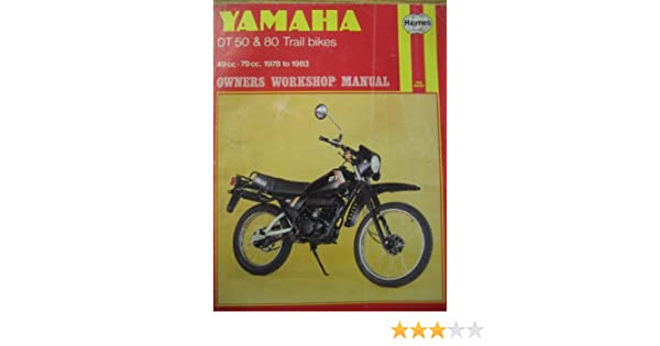 yamaha dt50 and 80 trail bikes owner's workshop manual: amazon co uk: chris  rogers: 9780856968006: books