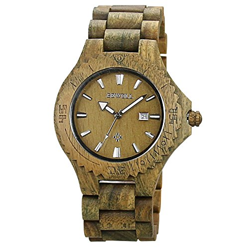 Bewell Luxus Auto Datum Ahornholz Uhren Herren Fashion Retro Holz Quarz Armbanduhr...