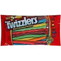 Twizzlers Rainbow Twists, 12.4-Ounce Bags (Pack of 12) by Twizzlers