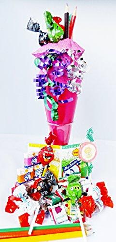 Jetzt Neu mit Motiv Tüten Gefüllte Zuckertüte Mitbringsel Geschenktüte 22cm Geschwistertüte die Schnelle Tüte