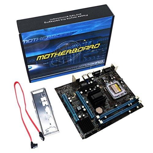 Gugutogo G31computer scheda madre Dual-Core Support LGA 771775mainboard DDR2VGA