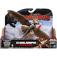 Spin Master - Figura dragón que salta, tema Cómo entrenar a tu dragón 2 (6028980)