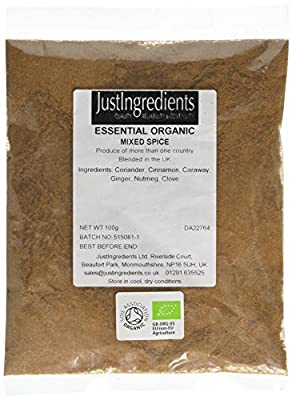 JustIngredients Organic Mixed Spice Loose