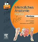Mémofiches Anatomie Netter - Membres