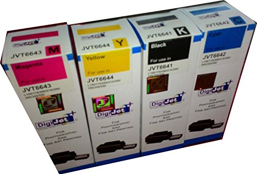 LYSON INK FOR EPSON L100 / L110 / L200 / L210 / L300 / L350 / L355 / L550 [ Set of 4 colors ] COMPATIBLE  available at amazon for Rs.680
